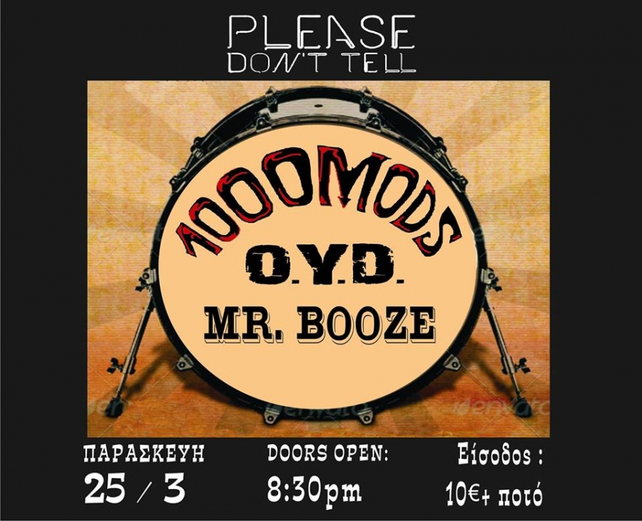 1000MODS - ONE YEAR DELAY - MRBOOZE LIVE AT KALAMATA